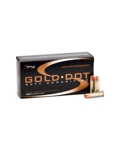 Speer Gold Dot .38 Special 135 Grain +P Short Barrel HP Case 53921-CASE