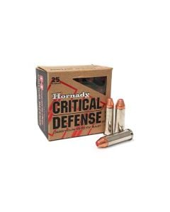 Hornady Critical Defense .38 Special 110 Grain +P FTX