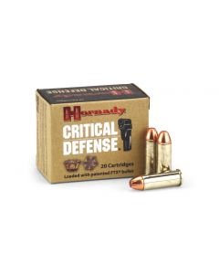 Hornady Critical Defense .45 LC 185 Grain FTX