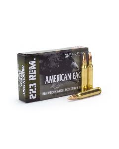 Federal American Eagle Military Grade 223 Remington 55 gr FMJ Boat Tail (BOX)