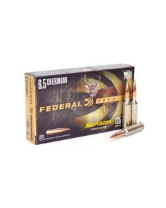 Federal 6.5 Creedmoor 135 Gr Berger Hybrid Hunter (Box)