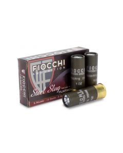 "Fiocchi 12 Gauge 2-3/4"" 1 Oz Steel Slug (Box)"