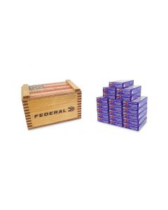 """Federal American Eagle 5.56 NATO XM193 55 Gr FMJ in """"We the People"""" Crate - 400 Rounds"""