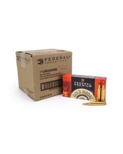 Federal Gold Medal 300 Win Mag 190 Grain Sierra Matchking HP (Case)