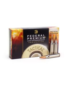 Federal LE Tactical 308 Winchester 165 Grain Bonded Soft Point