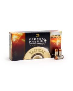 Federal Premium .40 S&W 165 Tactical Bonded HP