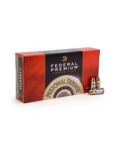 Federal Personal Defense 357 Sig 125 Grain JHP