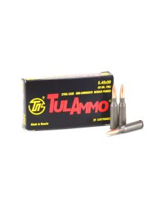 TulAmmo 5.45x39mm 60 Grain FMJ Case TA545390-CASE
