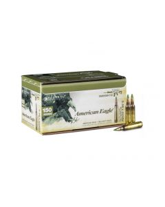 Federal 5.56 NATO 62 Grain XM855 Green Tip FMJ (150 Rounds Bulk)