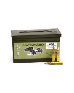 Federal American Eagle 5.56 NATO XM855 62 Grain Green Tip FMJ
