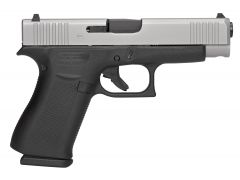 "Glock G48 9mm 4.17"" GNS 10+1 Black/Silver"