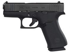 "Glock G43X  with AmeriGlo 9mm 3.41"" 10+1 Black"