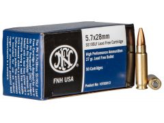 10700013 FN High-Performance 5.7x28mm 27 Gr Lead-Free HP