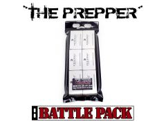 "Federal Hi-Shok 9mm 115 Grain +P+ JHP The Prepper"" Battle Pack"""