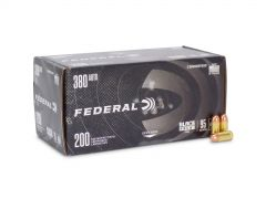 Federal American Eagle Black Pack 380 ACP 95 Gr FMJ