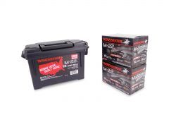 Winchester 22 LR 40 Grain Black Copper Plated RN - 2000 Rounds in Ammo Can