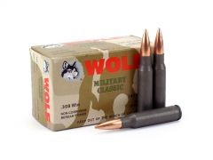 Wolf Military Classic .308 Win 145 Grain FMJ
