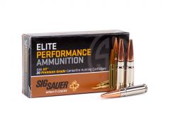 Sig Sauer Elite Hunting .300 AAC Blackout 120 Grain HT (Solid Copper)