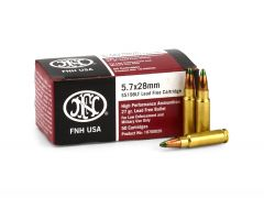 FNH USA 5.7x28mm 27 Grain HP Box